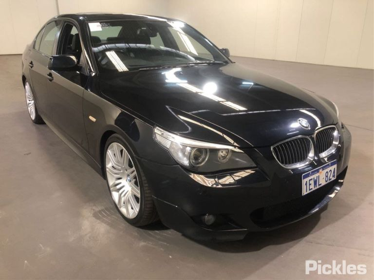 BMW I Pickles Auctions Australia - 2006 bmw 540i